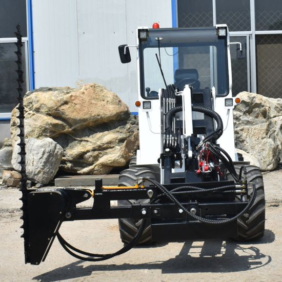 Hydraulic Pto 4WD Tractor Lawn Mower Loader Mounted Bobcat Mower