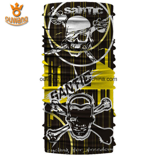 Custom Bandana Printing Neck Tube Scarf Headwear