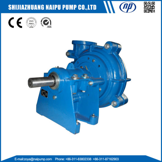 Shijiazhuang Pump Factory OEM Heavy Duty Copper Mining Processing 10X8 Slurry Pump pictures & photos