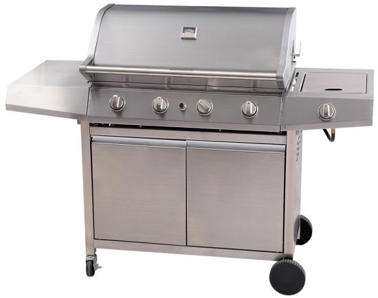 Outdoor furniture BBQ Gas Grill Stainless Steel Barbeque pictures & photos