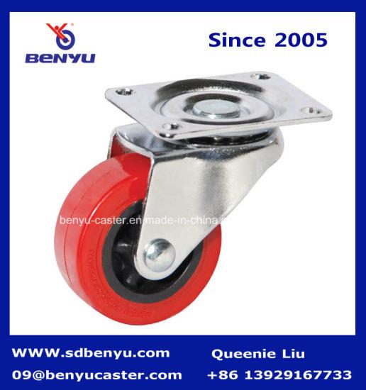 Outdoor Swivel PU Caster Wheel for Sliding Door