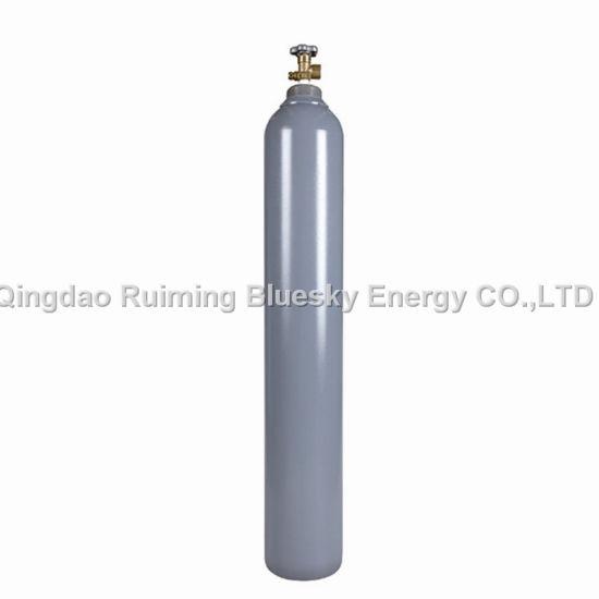 40L Newest Seamless Steel Gas Cylinder Chlorine Gas Oxygen Argon Cylinder