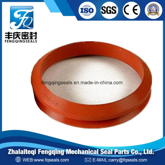 V Shape Viton Rubber Fabric Packing Bonded Seal Ring