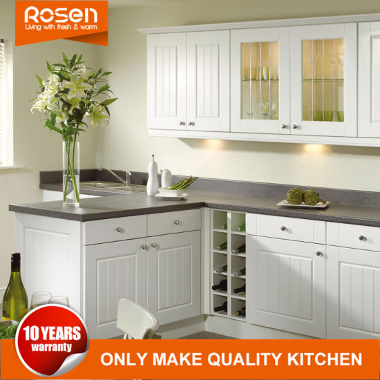 China Mat Glass Door Added To White Online Kitchen Cabinets China