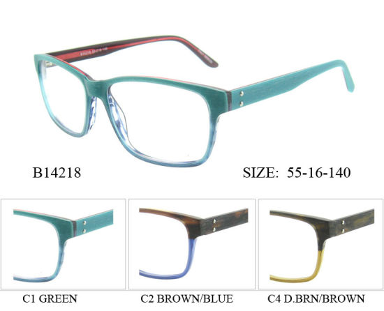 ae0274f6e144 New Arrival Wood-Like Acetate Optical Frame Eyewear Wholesale Spectacle  Frame pictures   photos