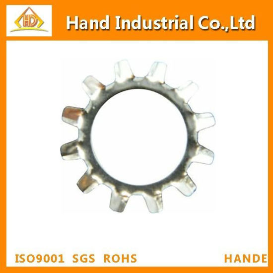 """Qty 25 5//16/"""" Stainless Steel External Tooth Lock Washer"""