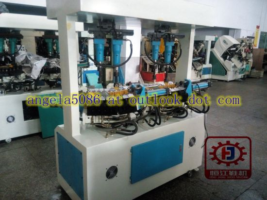 Shoe Sole Attaching Machine Leather Shoe Making Machines for Shoe Factory pictures & photos
