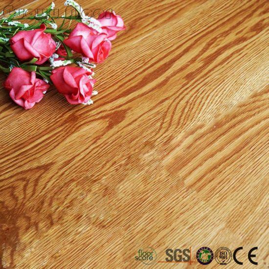 China Brown Wood Look Click Lock Vinyl Plank Flooring China Vinyl - What to look for in vinyl plank flooring