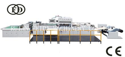 Fd1100*780 Roller Paper Flat Die Cutting Stripping Machine