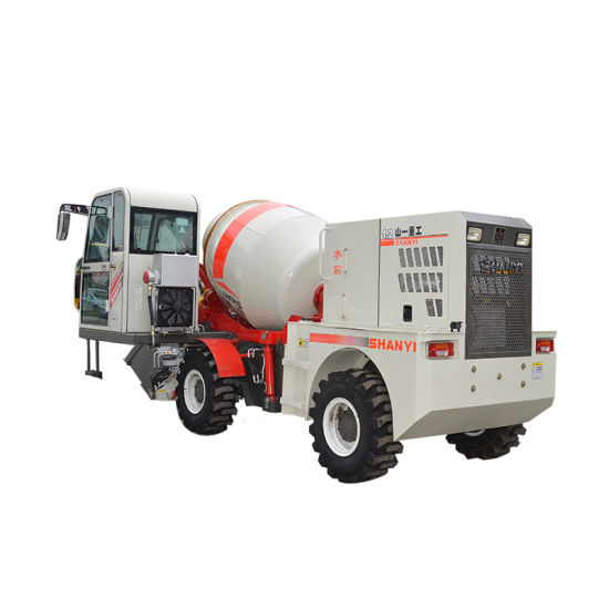 Concrete Machinery 1.2m3 Concrete Mixer with Electric Scale