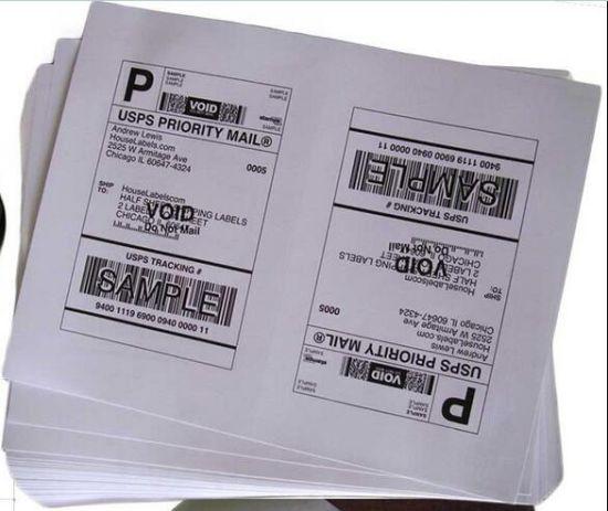 A4 Labels Shipping 8 5X5 5 Half-Sheet Self Adhesive Labels