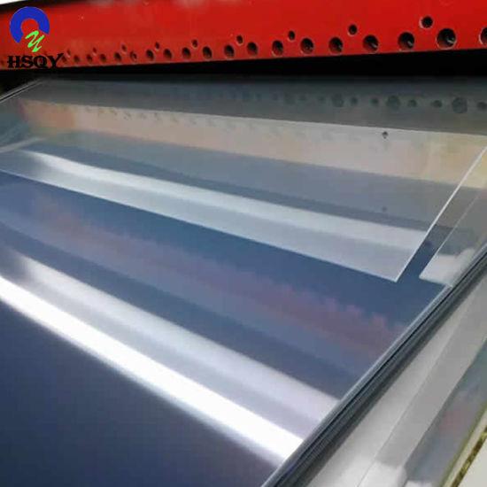 China 900*1800mm High Impact PVC Sheet for Garment Templates - China ...