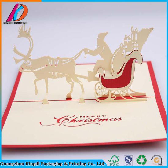 China 3d pop up christmas greeting card china greeting card 3d pop up christmas greeting card m4hsunfo