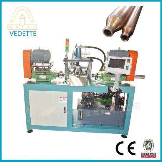 Taper Copper Tube Pipe End Forming Machine
