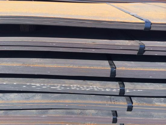 Hot Rolled Steel Plate with Grade of Ss400/A36/Ss540/Q345b/Q235B pictures & photos