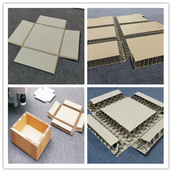 CNC Corrugated Board Carton Sample Cutting Machine pictures & photos