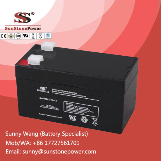 Rechargeable 12 Volt 1 3ah Msds Sealed Lead Acid Battery Pictures Photos