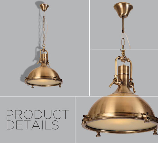 China metallic casting industrial antique brass pendant lamp for metallic casting industrial antique brass pendant lamp for bedroom aloadofball Choice Image