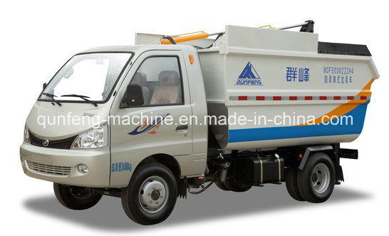 Factory Price Self-Loading Garbage Compacting Truck pictures & photos
