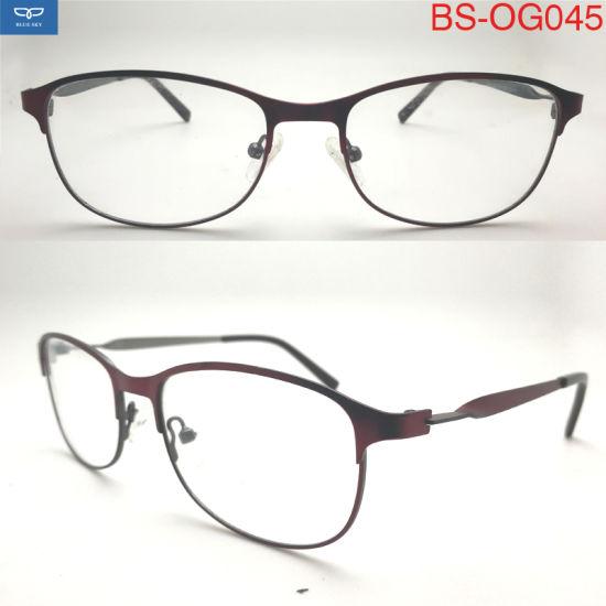 306f653d8b5 2018 Italy Design High Quality Reading Glasses Spectacles Eyeglasses Metal Optical  Frame for Women