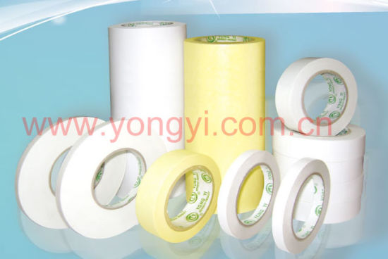 Tissue Double Side Tape with Acrylic Asolvent Adhesive pictures & photos