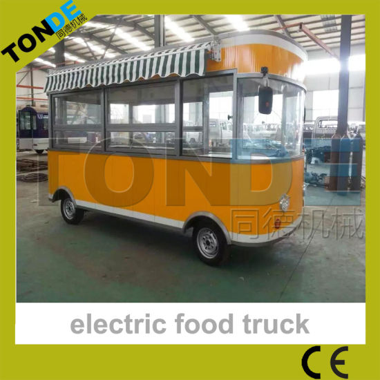 China Street Mobile Food Cart Small Electric Food Truck