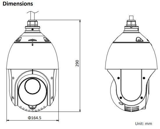 Image result for 2 MP IR IP PTZ Camera DS-2DE4215IW-DE