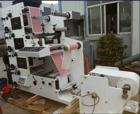 Flexo Printing Machine 320-4color Label and Film pictures & photos