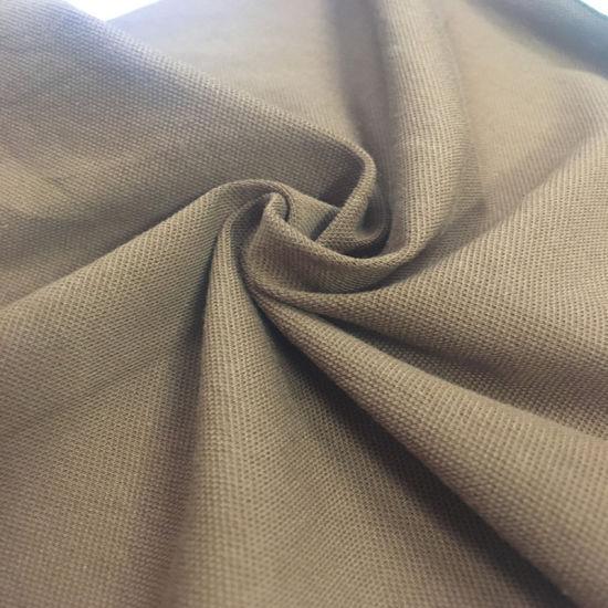 95%Cotton 5%Spandex Pique Fabric for Polo Shirt