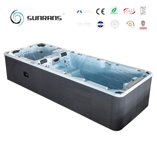 Very China Ce Approved Luxury Combo Hot Tub Above Ground Pool - China  IS25