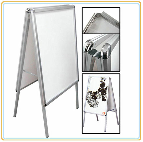 China Double Snap Frame Poster Holder/Poster Display Stand (A1 ...