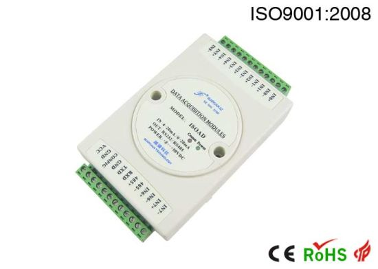 China 4-Channel 4-20mA to RS232 RS485 a-D Converter - China