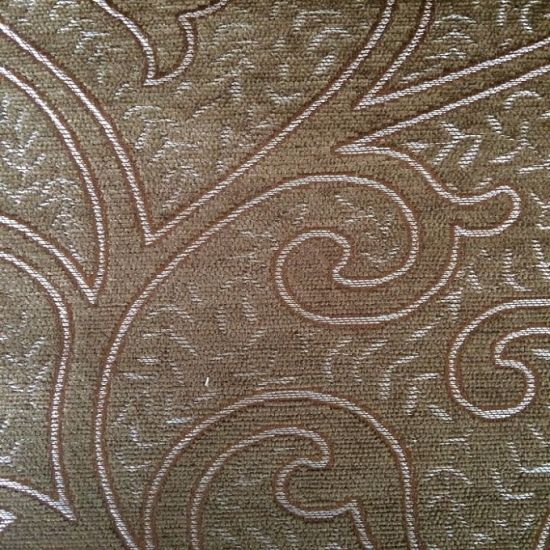 2015 100 Polyester Dobby Chenille Jacquard Fabric pictures & photos