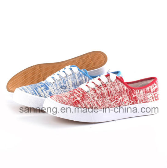 Canvas Shoes Women Shoes with Good Price (SNC-24237)