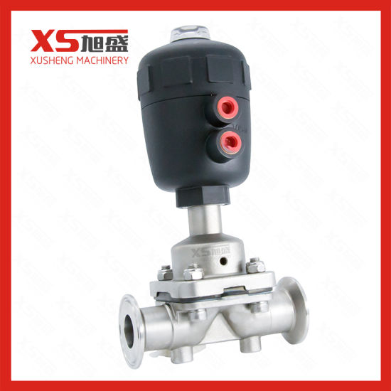 China stainless steel 316l tri clamp plastic pneumatic head stainless steel 316l tri clamp plastic pneumatic head diaphragm valve ccuart Gallery