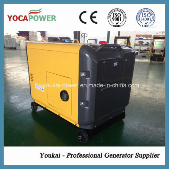 Hot Sale Low Noise 5kVA Diesel Generator Set with AVR pictures & photos