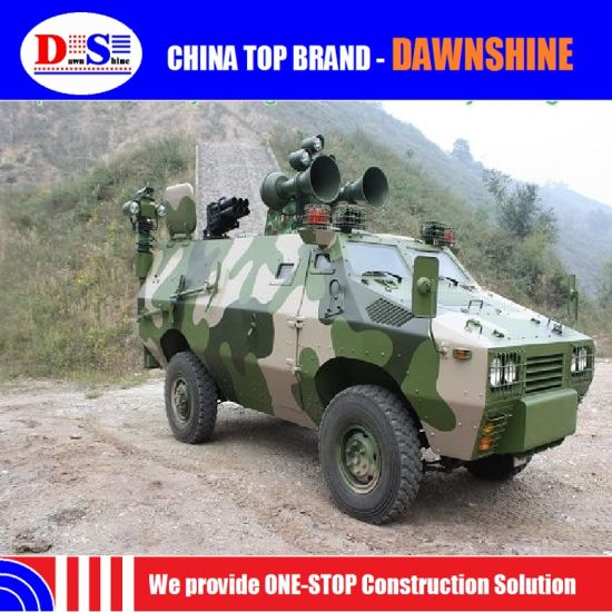 China Military Vehicle Light Armoured Police Vehicle for Swat