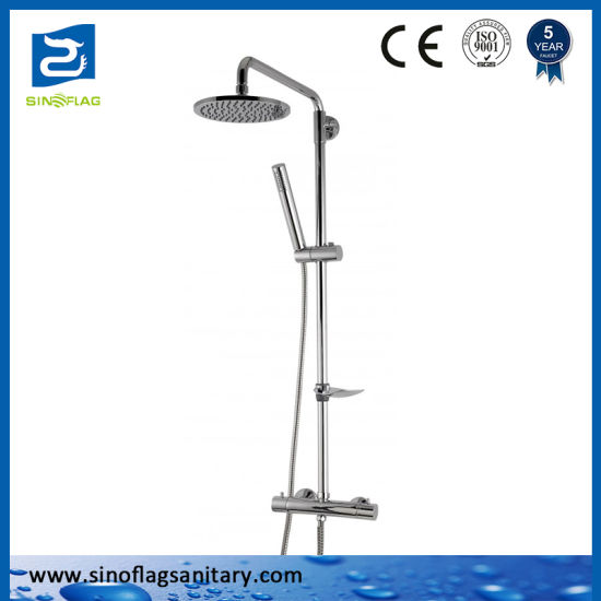 OEM Thermostatic Shower Faucet Customized Rain Fall Bath Shower Mixer Set