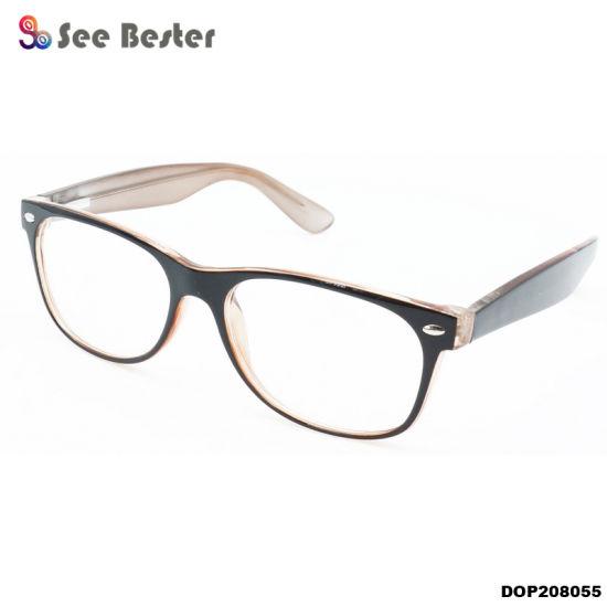 c50e2d85ab8 Popular China Wholesale Eyewear Factory Cp Plastic Optical Eyeglasses