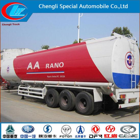 Nigeria Heavy Duty 2 Axle 3 Axle Fuel Tank Semi-Trailer