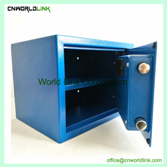 One Door Logo Printing Steel Home Wall Safe Box
