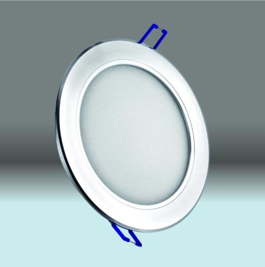 Recessed Slim LED Down Light 8 Inch 17W- Silver -S Series-4000K pictures & photos