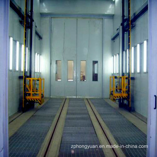 Truck Paint Booth with 3-D Lift for Sale