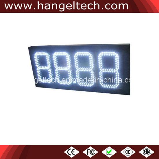 Supplying 8.888 LED Diesel Price Sign Board