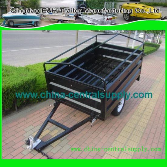 Galvanized Light Small Utility 6X4 Cargo/Box Trailer of Factory Supply B64