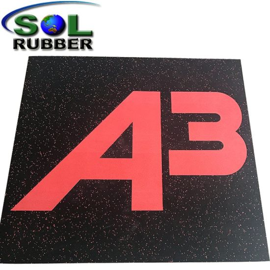 Special Pattern Ce Certificated Bright Color EPDM Rubber Tile