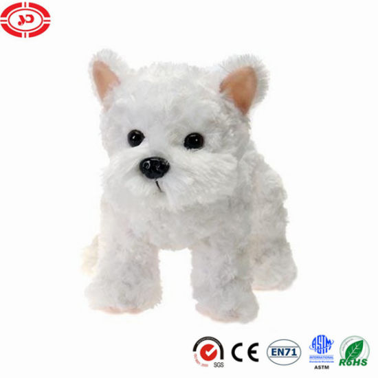 Terrier Dog Adorable Kids Puppy Stuffed Plush Dog Toy