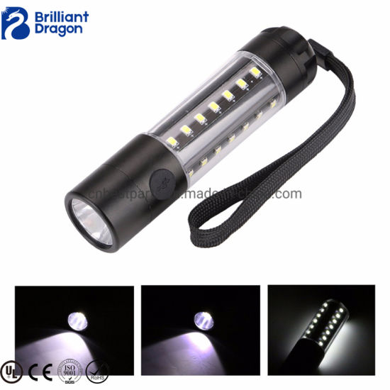 Super Bright LED Flashlight COB LED Waterproof Tactical Flashlight pictures & photos