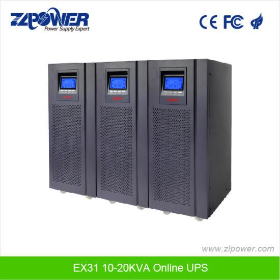 China High Frequency Three Phase Online UPS 10kVA 15kVA