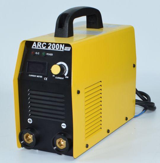 220V/180A, 180 Case, DC Inverter, IGBT Portable Arc Welding Machine/Tool/Equipment Welder-Arc200n